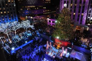 CBS #1 on Wednesday but 'the Rockefeller Christmas Tree Lighting was top program.