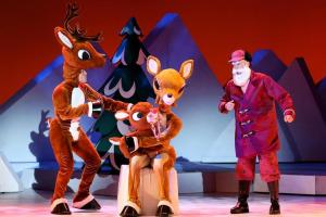 CBS #1 on Saturday with 'Rudolph the Red Nosed Reindeer' top program.