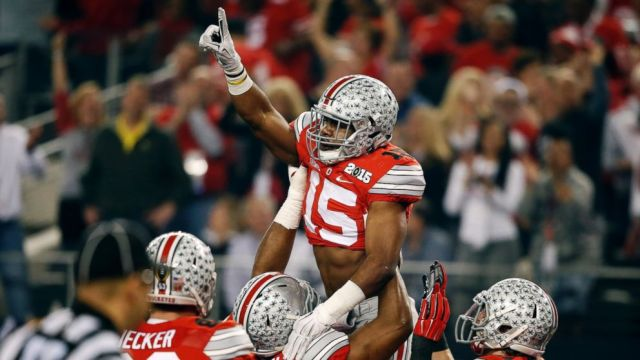 ESPN #1 on Monday with the first College Football Playoff as Ohio State defeated Oregon.