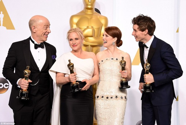 ABC #1 on Sunday as the 87th Annual Academy Awards drew over 34 million viewers.