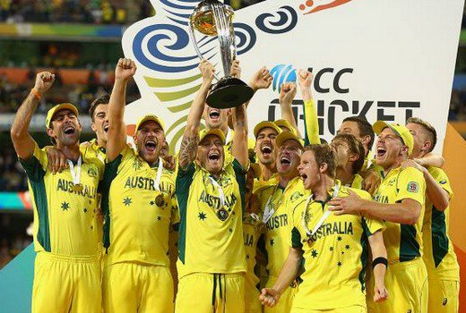 Network Nine #1 in Australia on Sunday as the 'ICC World Cup Cricket Championships' was the top program.