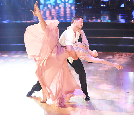 ABC #1 on Monday as 'Dancing With The Stars' was top program.
