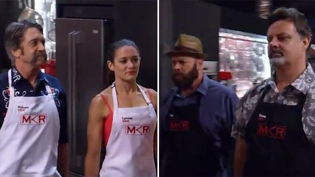 Seven Dominates Monday's TV Ratings as 'My Kitchen Rules' tops all as A score of 41 wasn't enough to keep Robert and Lynzey in the competition.