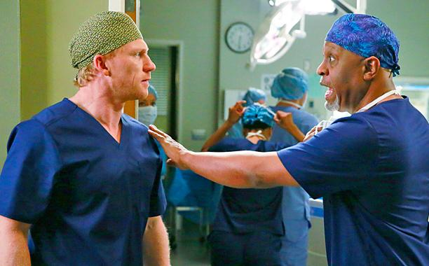 CBS finished #1 on Thursday but ABC's 'Grey's Anatomy' was top program.