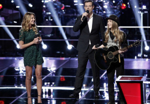 NBC Finished #1 on Tuesday as 'The Voice' was top program with 12+ million viewers.