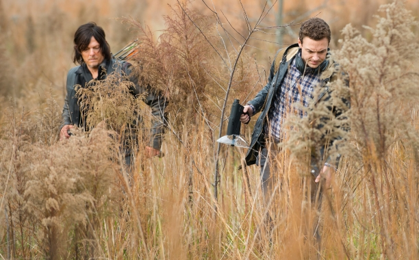 CBS #1 on Sunday but AMC's 'Walking Dead' top program with 15.8 million viewers.