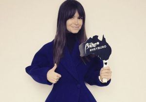 Buro 24/7 founder, Miroslava Duma bring it to Australia  Credit: Instagram