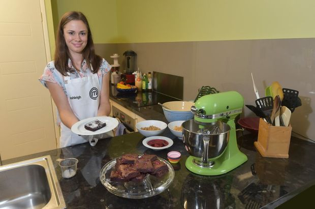 'MasterChef Australia' is wowed by Ashleigh's brownies.