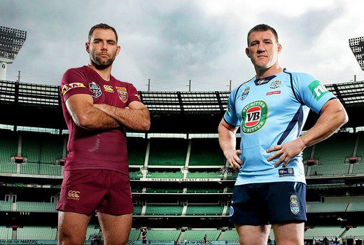 Network Nine scores with 'State of Origin Rugby Match' between Blues and Maroons. Blues level Origin series as controversy rages over Inglis 'no try' call http://short.ninem.sn/SzXFfxJ