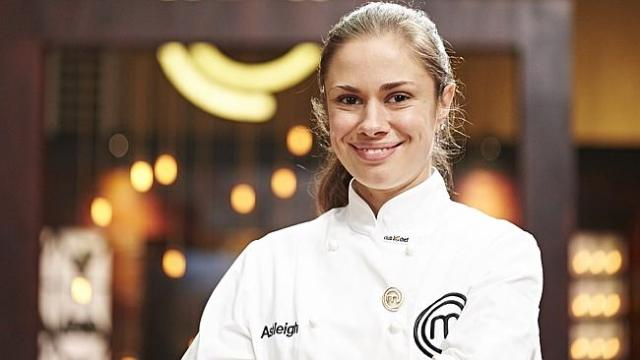 Ashleigh Bareham won immunity pin on 'MasterChef Australia' on Tuesday