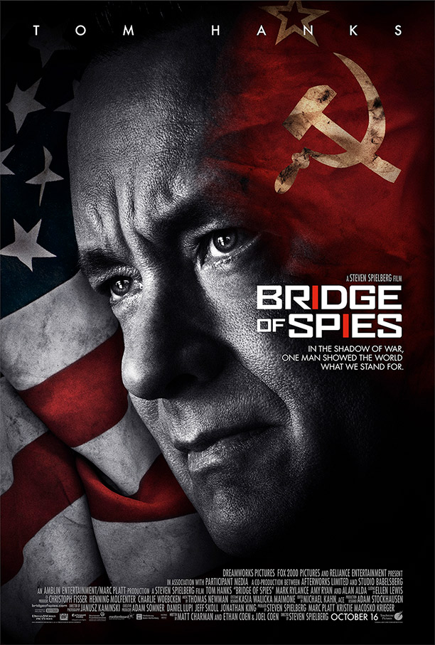 Let's see: A Coen Brothers script with Stephen Spielberg directing and Tom Hanks starring. Listen what Hanks thinks about the movie: http://bcove.me/0ykfu77r