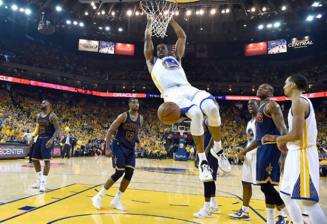 ABC #1 on Thursday as the '2015 NBA Finals' was the top program. Photo Credit: Bob Donnan/USA TODAY Sports, via Associated Press