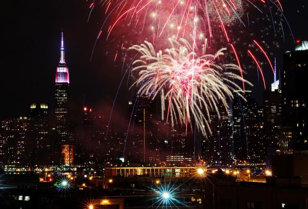 NBC #1 on Saturday as 'Macy's Fourth of July Spectacular' was top program. Photo Credit: ANDREW SCHWARTZ FOR NEW YORK DAILY NEWS