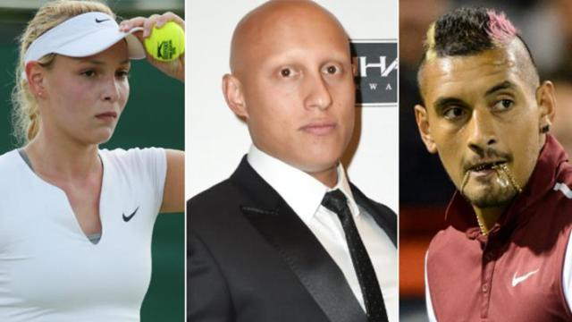 Christos Kyrgios dumped from radio interview after lewd 'Kokk' comment http://www.9news.com.au/World/2015/08/14/02/42/Nick-Kyrgios-fined-over-girlfriend-remark-to-Stan-Wawrinka