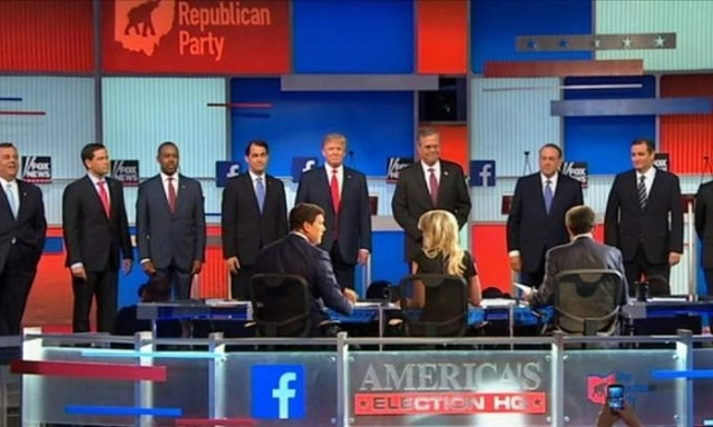 FOX News Channel #1 Thursday as '2015 Republican Presidential Candidate Debate' was top program.