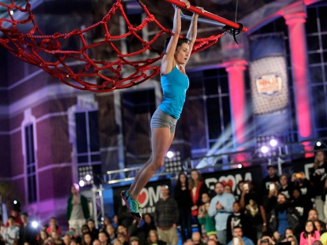 CBS #1 Saturday but NBC's 'American Ninja Warrior' top program.