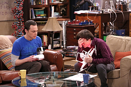 "CBS #1 Thursday as 'The Big Bang Theory' with the episode 'The Graduation Transmission"" was the top program."