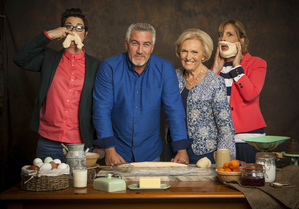 BBC One #1 Wednesday in the UK as 'The Great British Bake Off' top program.