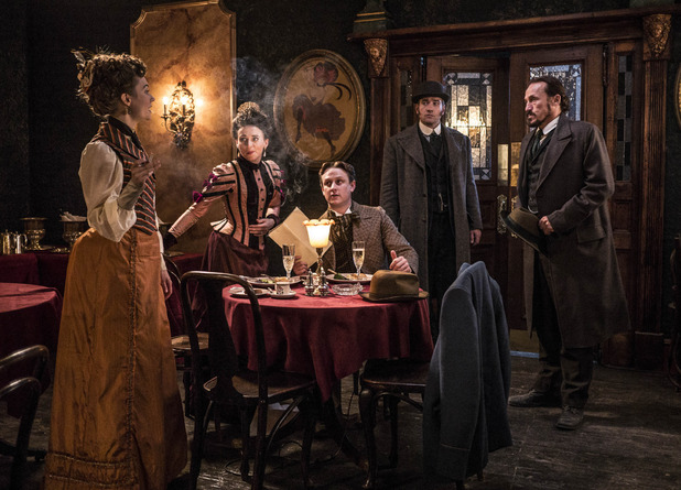 BBC One #1 in the UK Friday as 'Ripper Street' top  program.