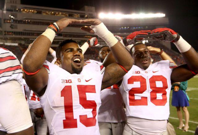 ESPN #1 Monday as 'Ohio State's victory over Virginia Tech' top program.
