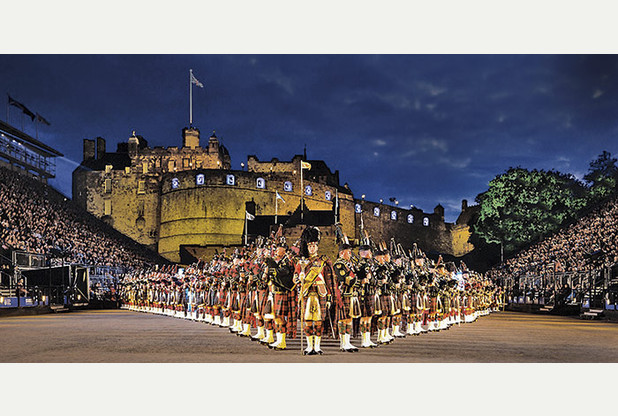 BBC One #1 Monday in the UK as 'Royal Edinburgh Military Tattoo 2015' top program.