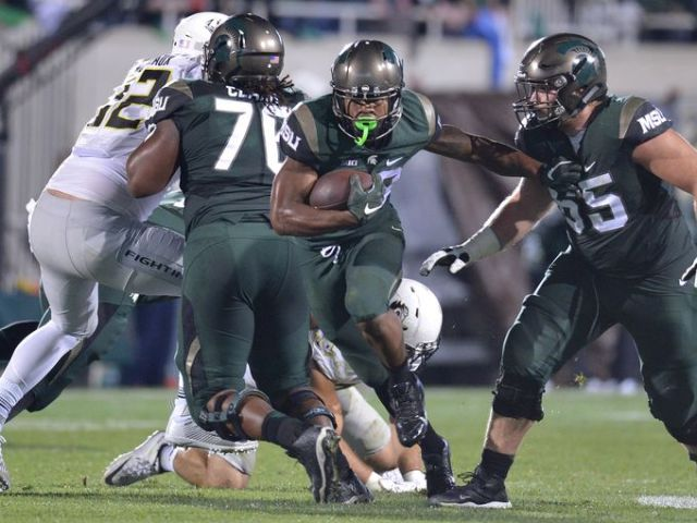 ABC #1 Saturday as 'College Football' featuring Michigan State beating Oregon was the top program.