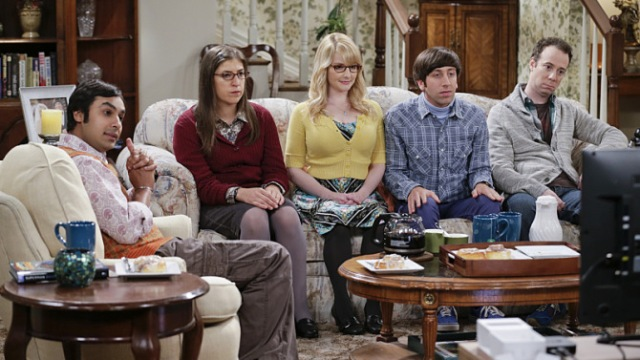 ESPN #1 on Monday but CBS' 'The Big Bang Theory' top program.