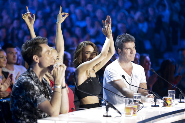 ITV #1 Sunday in the UK as 'The X Factor' was the top program.