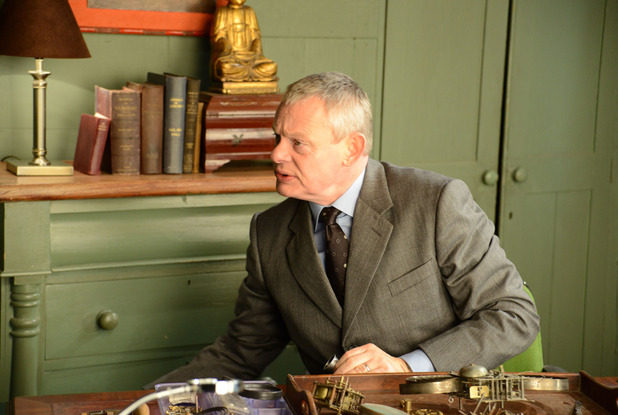 ITV #1 Monday in the UK as 'Doc Martin' top program