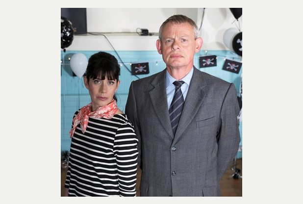 ITV #1 Monday as 'Doc Martin' was the top program in the UK.