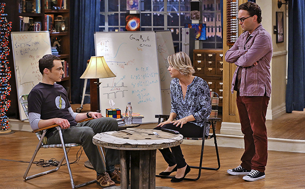NBC #1 Broadcast Network Monday as CBS' 'The Big Bang Theory' top program.