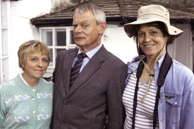 ITV #1 Monday in the UK as 'Doc Martin' top program