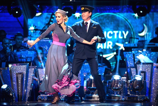 ITV #1 Sunday in the UK but 'Strictly Come Dancing' top program.