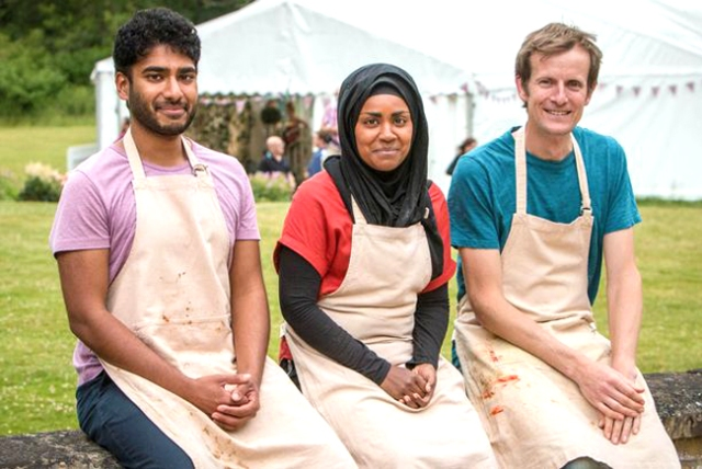 BBC One #1 Wednesday as the season finale of 'The Great British Bake Off' was the top program.