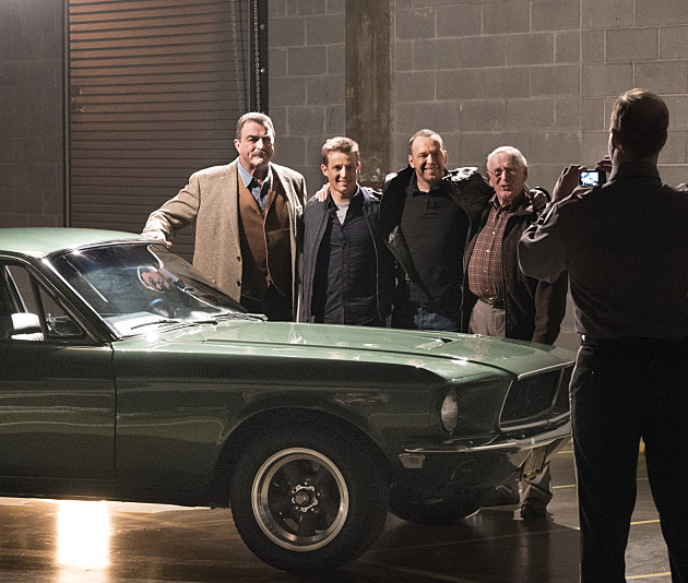 CBS #1 Friday as 'Blue Bloods' in with 'The Bullitt Mustang' finished as the top program.