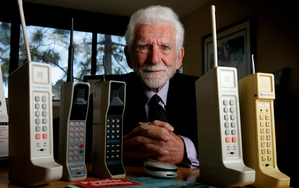 Martin Cooper, inventor of the mobile phone Photo credit: Sandy Huffaker for The New York Times