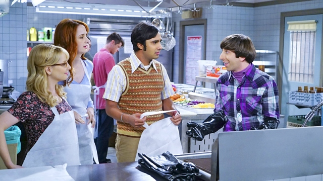 CBS #1 Thursday as 'The Big Bang Theory' top program with over 15 million viewers.