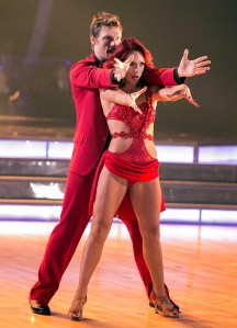 Nick Carter and Sharna  Burgess