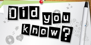did_you_know