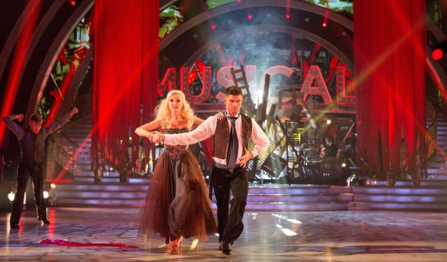 BBC One #1 in the UK Sunday as 'Strictly Come Dancing' top program with over 10 million viewers.