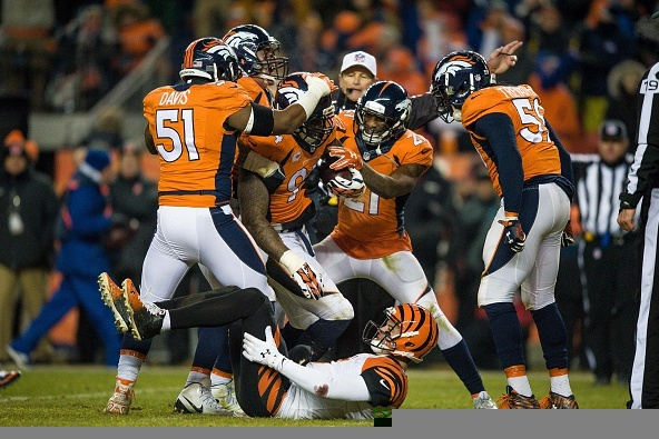 Denver Bronco's beat the Cincinnati Bengals in OT: https://youtu.be/QdLPDjqE9gw (Photo Credit: Dustin Bradford/Getty Images)
