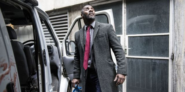 BBC One finished #1 in the UK Tuesday as 'Luther' was the top program
