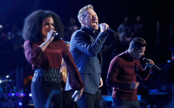 NBC #1 Broadcast Network Monday as 'The Voice' top broadcast program.