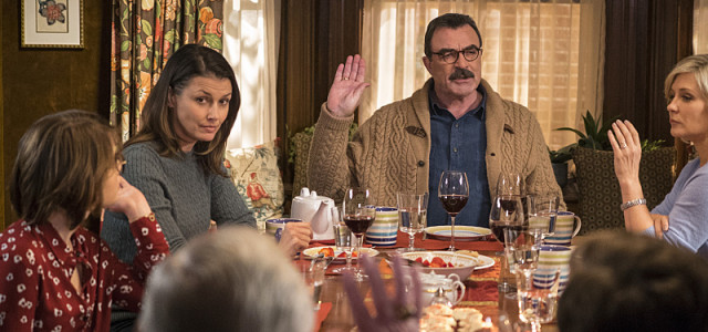 CBS #1 Friday as 'Blue Bloods' finished as the top program with over 10 million viewers.