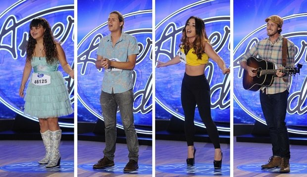 FOX #1 Wednesday as 'American Idol' began its final season was the top program with nearly 11 million viewers.