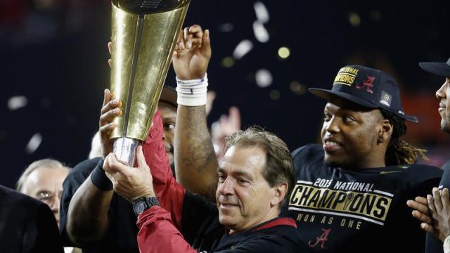 ESPN #1 Monday as 'NCAA National Football Championship' top program as Alabama beats Clemson in Phoenix.
