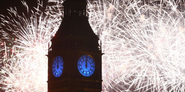BBC One #1 New Year's Eve   in the UK as 12+ million watched the fireworks at Midnight.