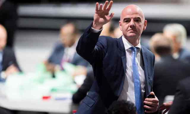 Gianni Infantino was elected President of FIFA.