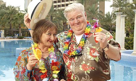 ITV #1 Monday in the UK as 'Benidorm' finished as the top program.
