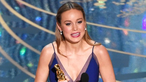Brie Larson named Best Actress
